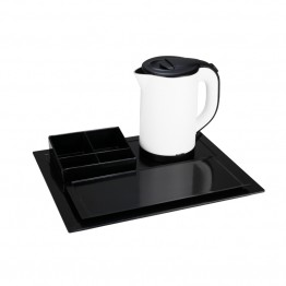 C-H1268bw new stainless steel kettle tray set